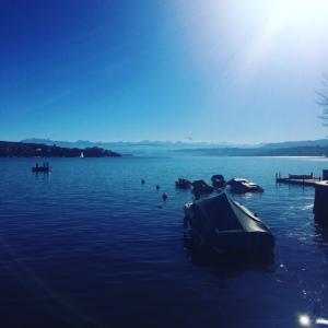 The beautiful Lake Zurich